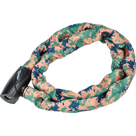 Red Cycling Products High Secure Chain Kettenschloss digi camo